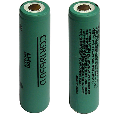 I've just ripped out a IBM T43 battery that was unchangeable when inserted  in the notebook. The batteries model is CGR18650D and look like the  following: